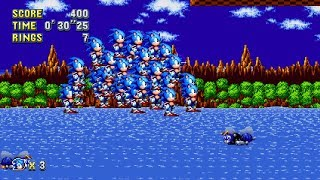 Sonic 2 HD - Multiple Characters! also other stuff