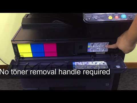 replace driving unit for kyocera TA2552Ci - смотреть онлайн