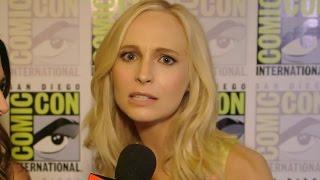 Candice Accola Reveals Steroline Future TVD Season 7 - Comic Con 2015