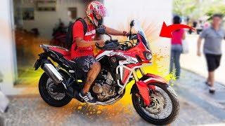 FUI NA HONDA BUSCAR A AFRICA TWIN 1000 ( MOTO NOVA DA HONDA )
