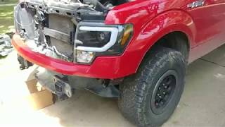 2009-2014 F150 Front Bumper Removal