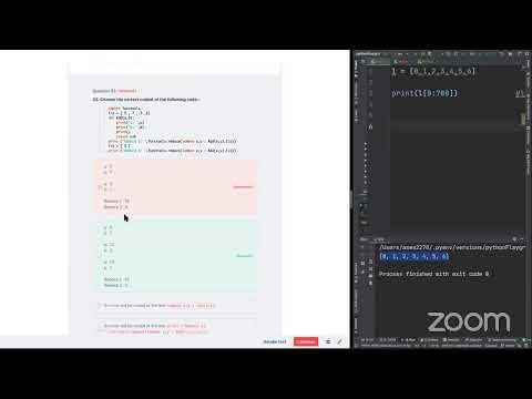 Python Certification PCAP Mock Exam - 6 - YouTube