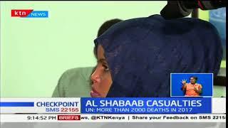 More than 2,000 civilians killed by Al-Shabaab in Somalia in 2017