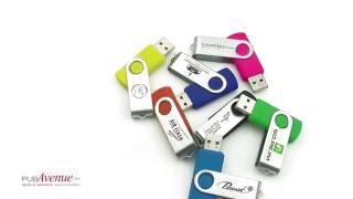 Clé USB 3.0 personnalisée professionnelle Twister