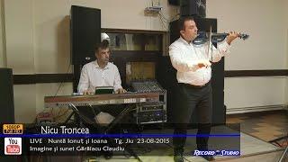 Nicusor Troncea LIVE INSTRUMENTALA VIOARA - Nunta Ionut & Ioana Tg. Jiu 23-08-2015