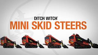 The Powerful Ditch Witch SK1550 Mini Skid Steer
