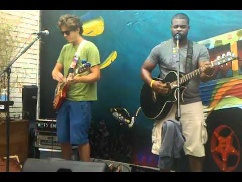 DeeLo and Ryan Crary jamming at Mellow Mushroom