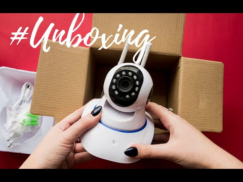 #UNBOXING: Camera de supraveghere Wireless rotativa BS IP22L