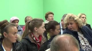Встреча администрации с жителями поселка Птичное 21 сентября 2016 часть 1