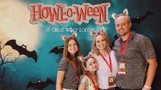 Lily and Chloe explore the NEW Great Wolf Lodge in Scottsdale!