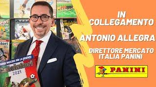 Intervista Antonio Allegra – Le figurine nel pallone 6 Maggio 2021