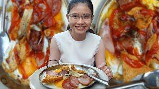 Chảo bánh mì đắt đỏ nhất Sài Gòn 55k nhưng khách vẫn ùn ùn đến ăn và đây là lý do
