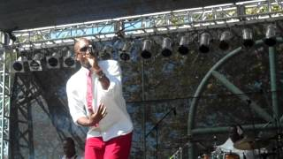 Anthony David performs Let Me In live at the BB Jazz Festival 2012