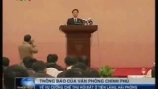 thủ tướng Nguyễn Tấn Dũng trừng trị tham quan Tiên Lãng