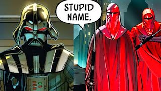 Two Royal Guards that Didn't Recognize Darth Vader(Canon) - Star Wars Comics Explained