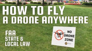 Where to fly your drone