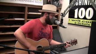 Drew Holcomb - Nothing But Trouble - Live at Lightning 100