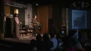 Collaborative Art And Historic Inspiration: Sasha Chavchavadze And Angela Kramer At TEDxGowanus