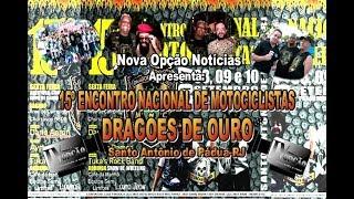 N.O. Notícias-15º E.N. Motociclistas Dragões de OuroMC