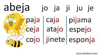 Silabas Ja Je Ji Jo Ju Para Niños Endlessvideo