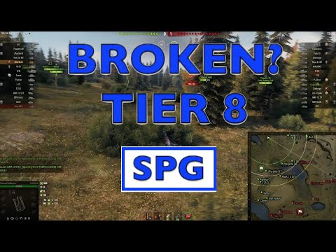 WOT - Most Broken OP Tier 8 SPG | World of Tanks