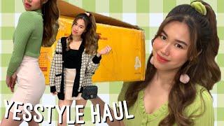 💚 HUGE £300 YESSTYLE TRY ON HAUL 💚 Asian Fashion | Korean Beauty ♡