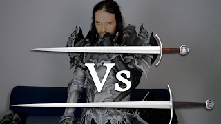One handed swords vs Two handed swords - REPLY to the Metatron