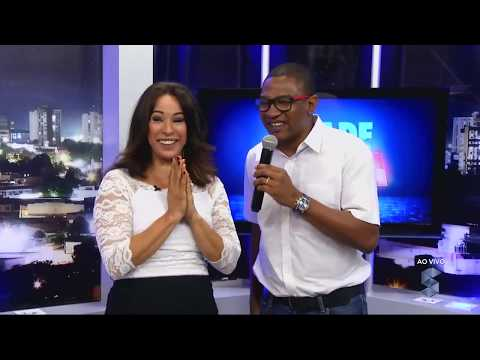 Cesar Sampaio emociona a palmeirense Sandra Santos - Gente de Opinião