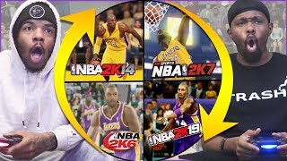 NBA 2K... But Every Quarter We Spin The Wheel To Change Years!