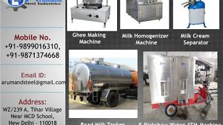 Dairy Machinery Plant