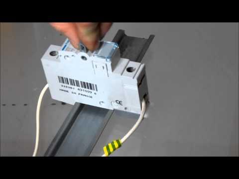 Hager B 16 Ls-Schalter bei 2000Volt