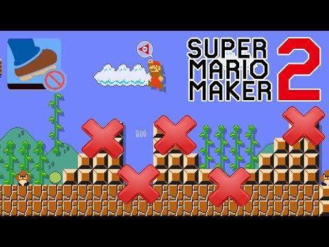 World 1-1 But you CANNOT touch the GROUND - Super Mario Maker 2
