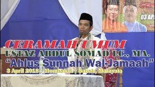 Sambutan Luar Biasa - Ceramah Umum Ustaz Abdus Somad LC., MA