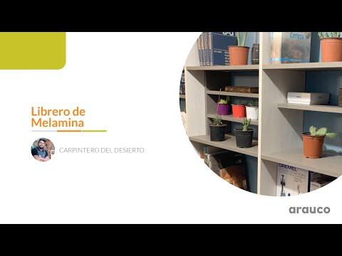 VIDEOS CÓMO HACER: Librero de Melamina con el Carpintero del Desierto