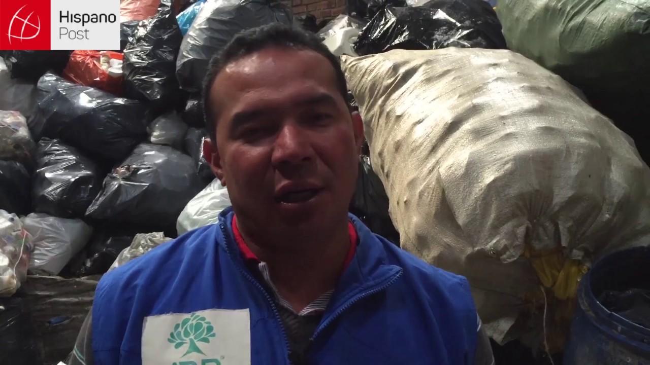 Colombia no sabe reciclar su basura
