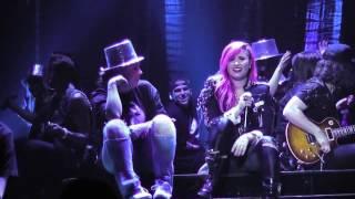 """Demi Lovato & sister Madison De la Garza """"Here We Go Again"""" Live Neon Lights Tour Indianapolis"""