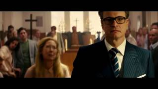 Kingsman Church Fight Scene (Shoot to Thrill - ACDC)