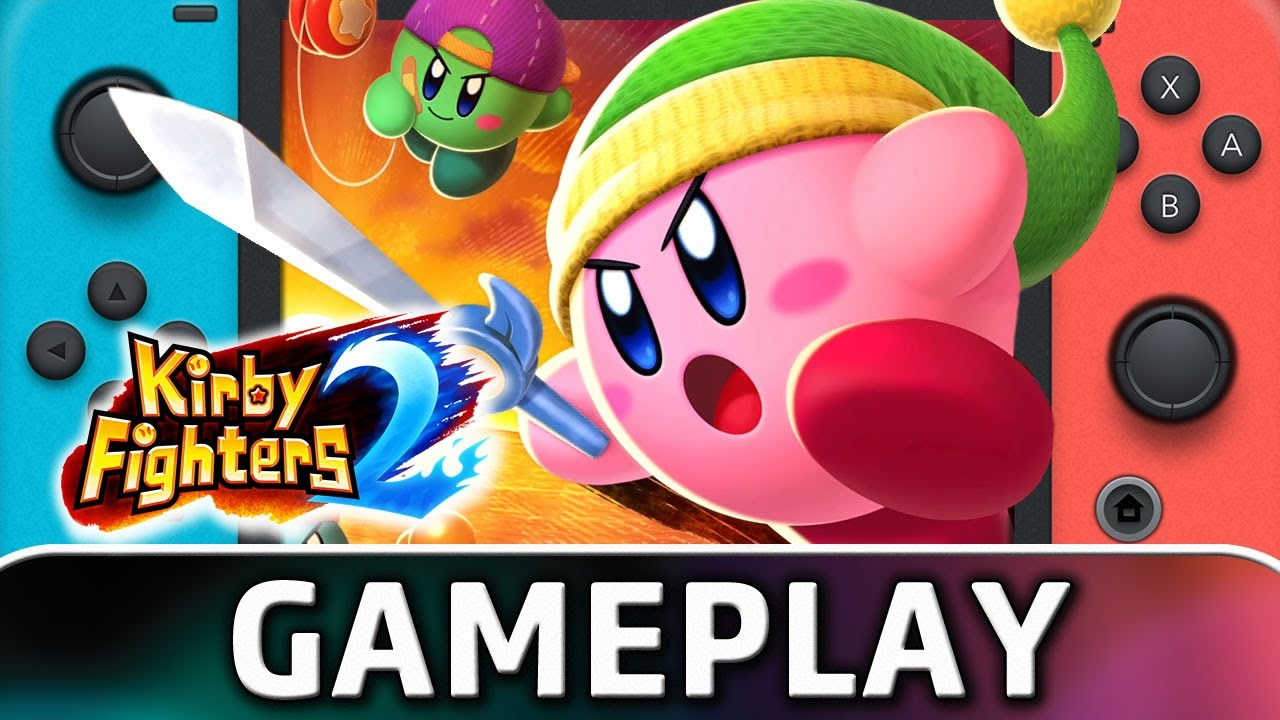 Kirby Fighters 2   Nintendo Switch STORY Gameplay