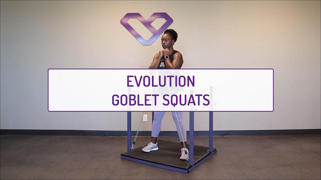 Evolution Goblet Squats