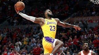 """LeBron James """"C'E' UN FALSO NEL CERTIFICATO DI NASCITA!"""" Vs Rockets (Live🎙Flavio Tranquillo)"""