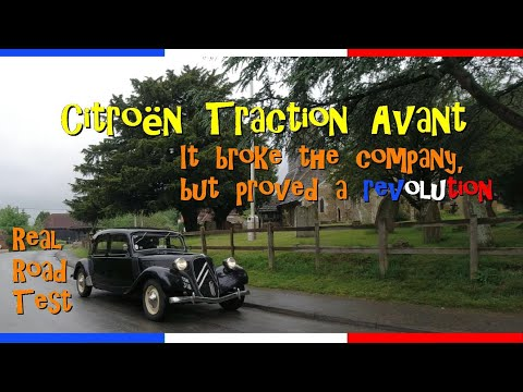Real Road Test: 1951 Citroën Traction Avant - 11 Normale