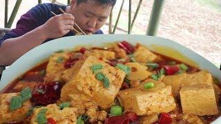 麻婆豆腐正確做法,下鍋炒前多做這1步,豆腐嫩滑入味,回味無窮,拌著米飯能吃3大碗【鐵鍋視頻】