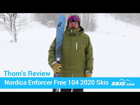 Video: Nordica Enforcer Free 104 Skis 2020 20 50