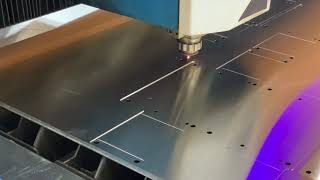Laser Cutting and Marking 18 Gauge Stainless Steel Parts
