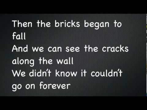 Broken Glass - Three Days Grace w/ Lyrics