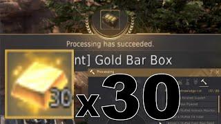 Black Desert Online- Gold Bar Boxes