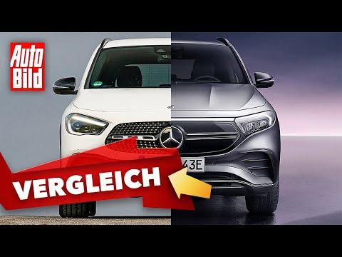 Mercedes GLA & EQA (2021) | Ist der EQA mehr als ein Elektro-GLA? |Der Vergleich mit Peter Fischer