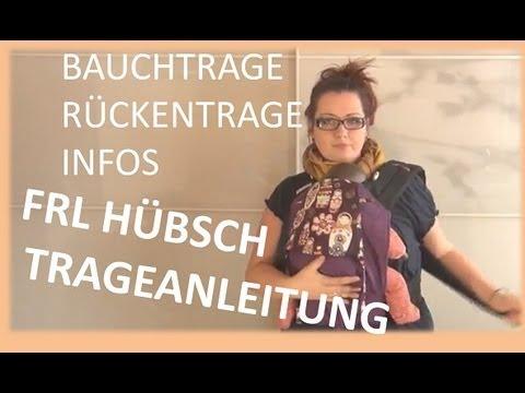 Babytrage Fräulein Hübsch Anleitung und Informationen