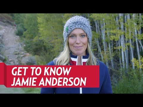 Get To Know Jamie Anderson