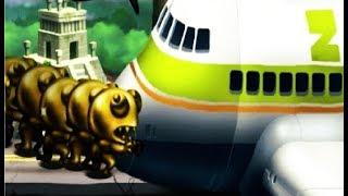 Zombie Tsunami #21 Игровой мультик для детей про зомби, веселый детский мультик игра для малышей